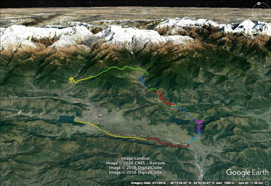 Annapurna 100, pokhara begnas sikles ghachok trek